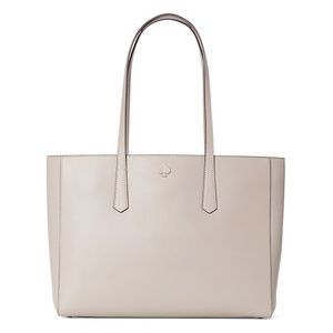 Kate spade molly large leather tote - True Taupe